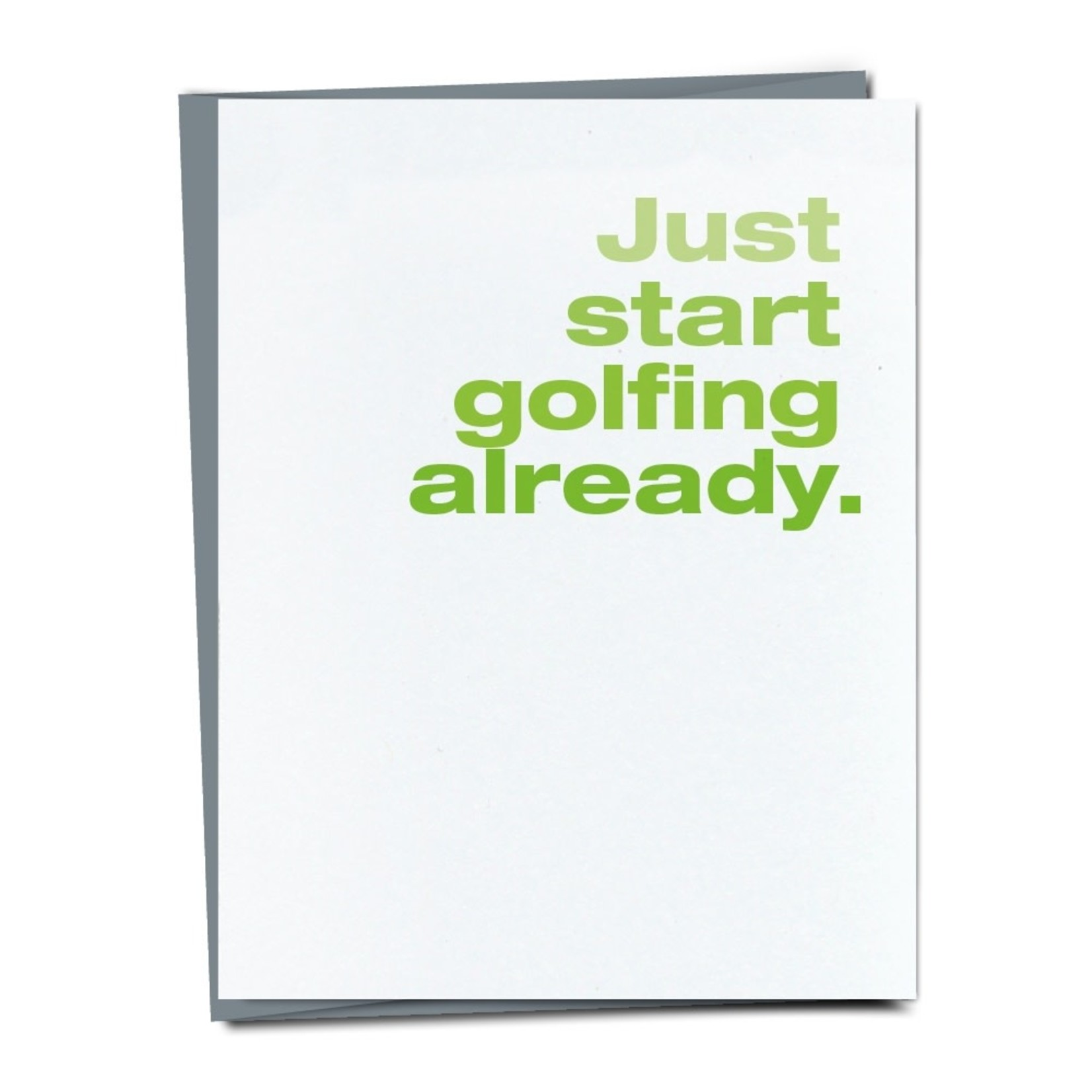 Finch and Hare Finch and Hare Card Golf