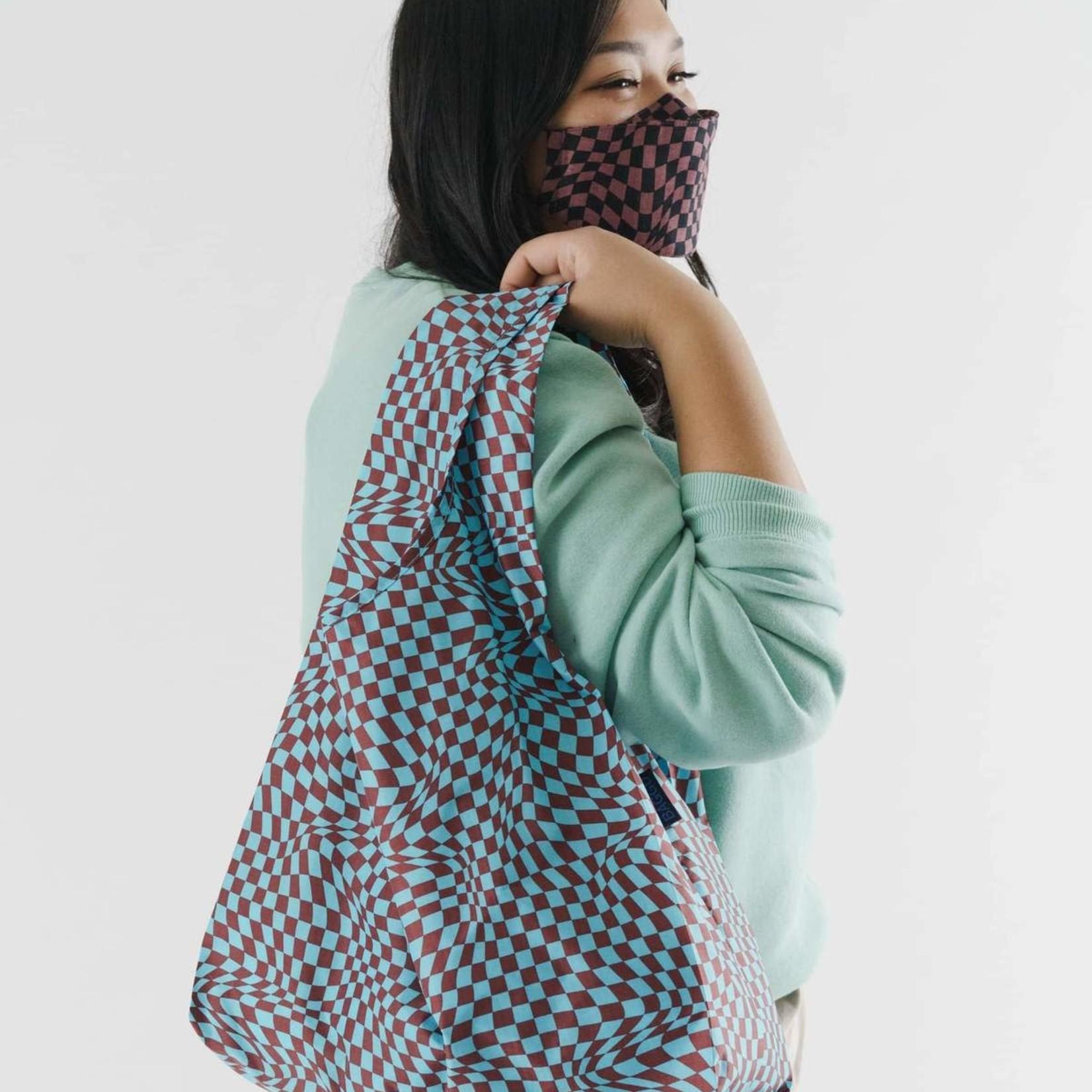 Baggu Baggu Reusable Bag Standard Sky Trippy Checker
