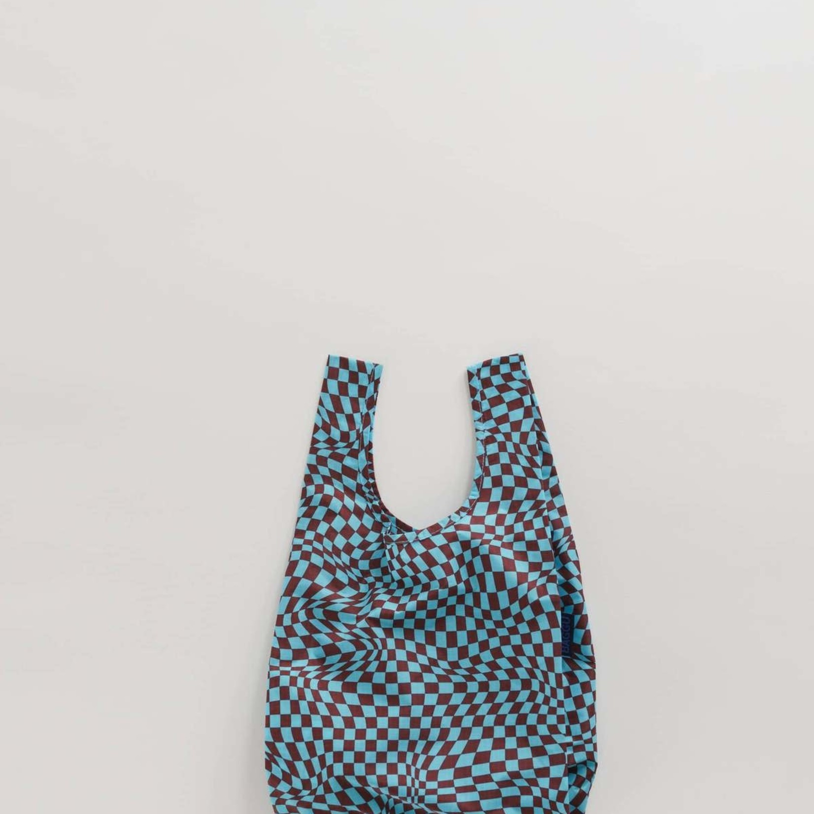 Baggu Baggu Reusable Bag Baby Sky Trippy Checker