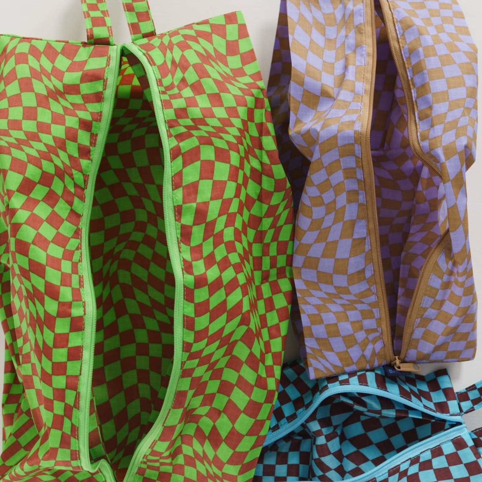 Baggu Baggu 3D - Zip Set Trippy Checkers