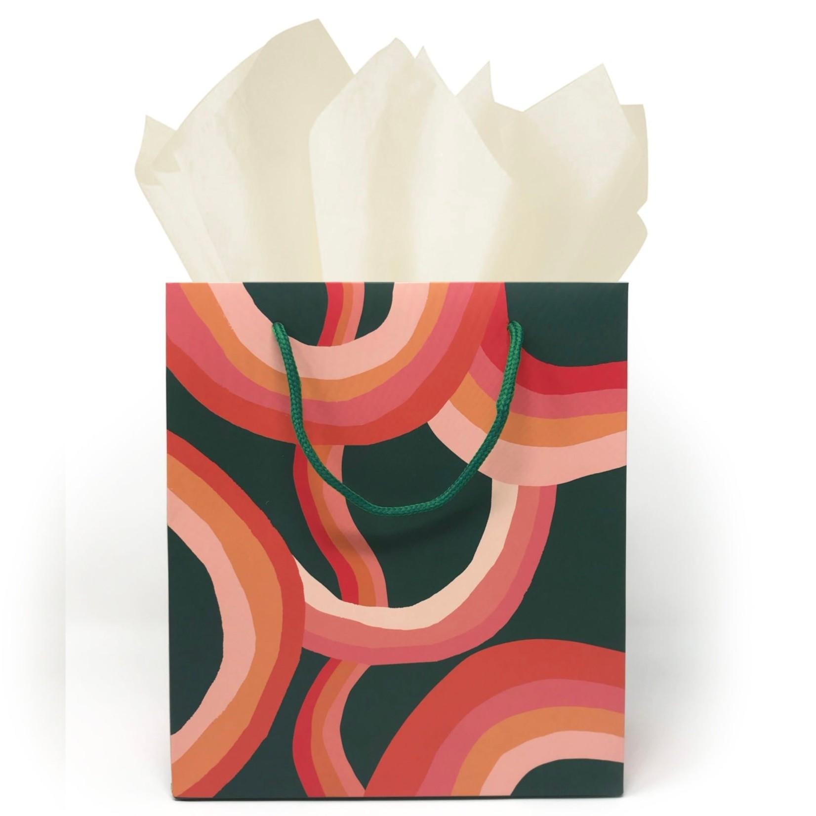 Idlewild Co. Idlewild Gift Bag Wavy Rainbow