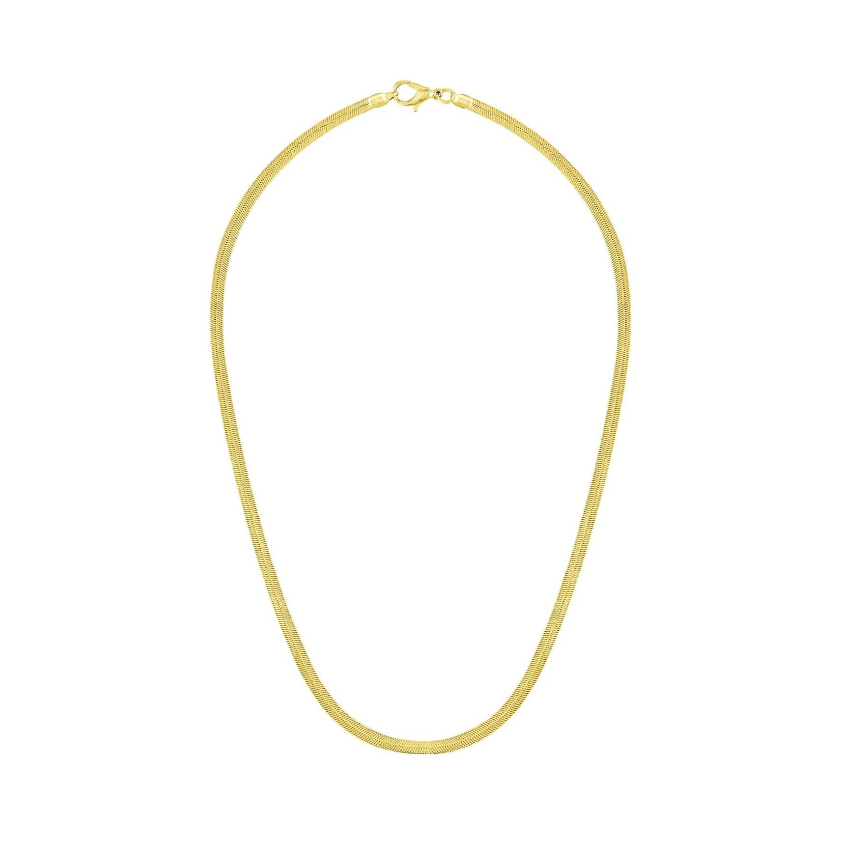 Olivia Le Olivia Le Sahira Herringbone Necklace