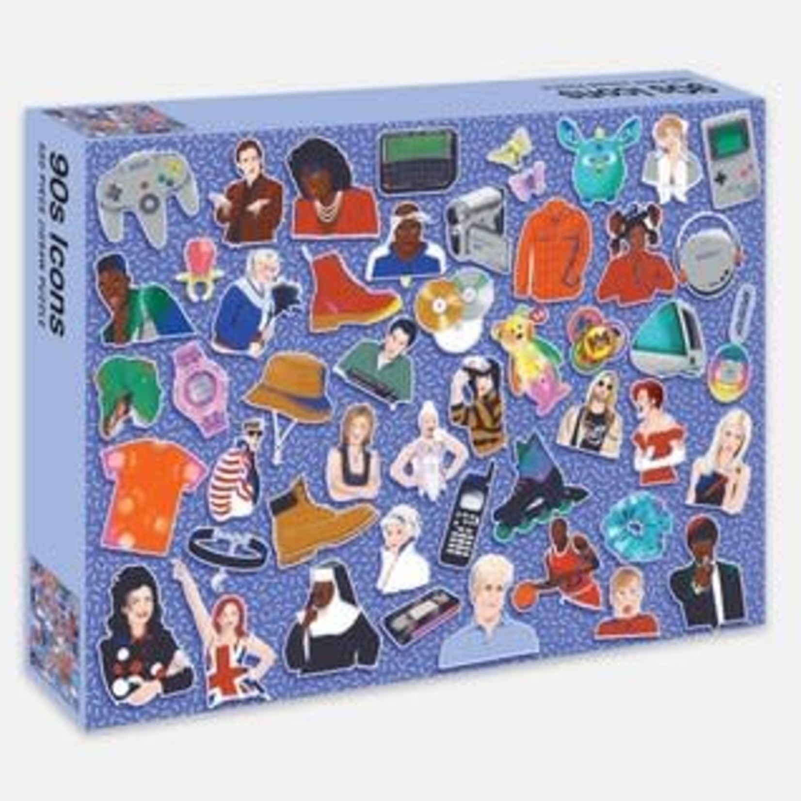 Rizzoli 500 Piece Jigsaw Puzzle 90s Icons