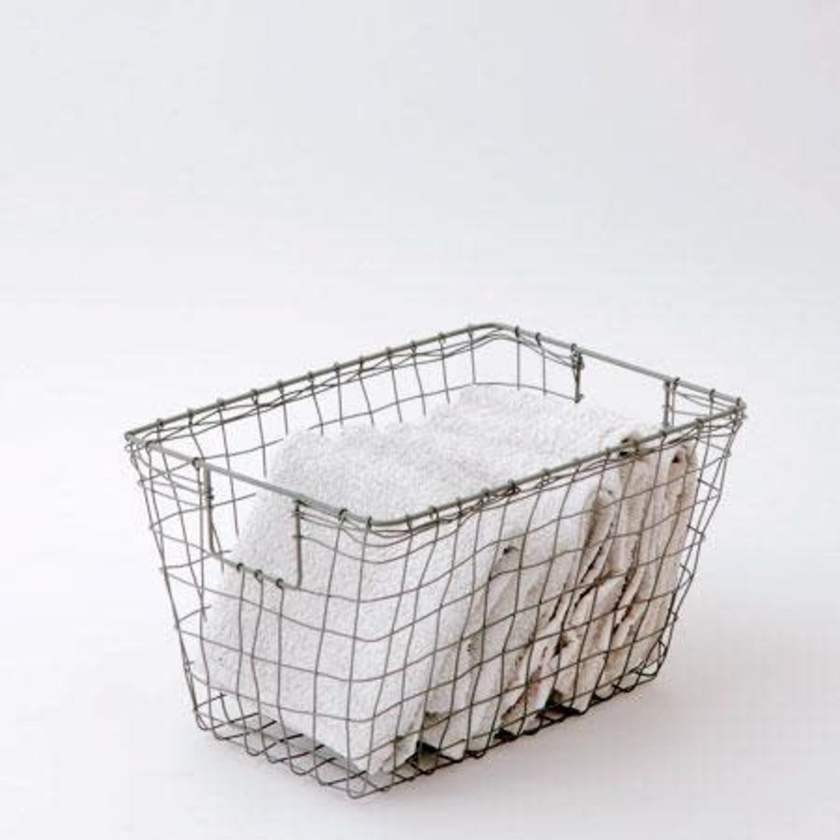 Fog Linen Fog Linen Iron Standard Basket Medium