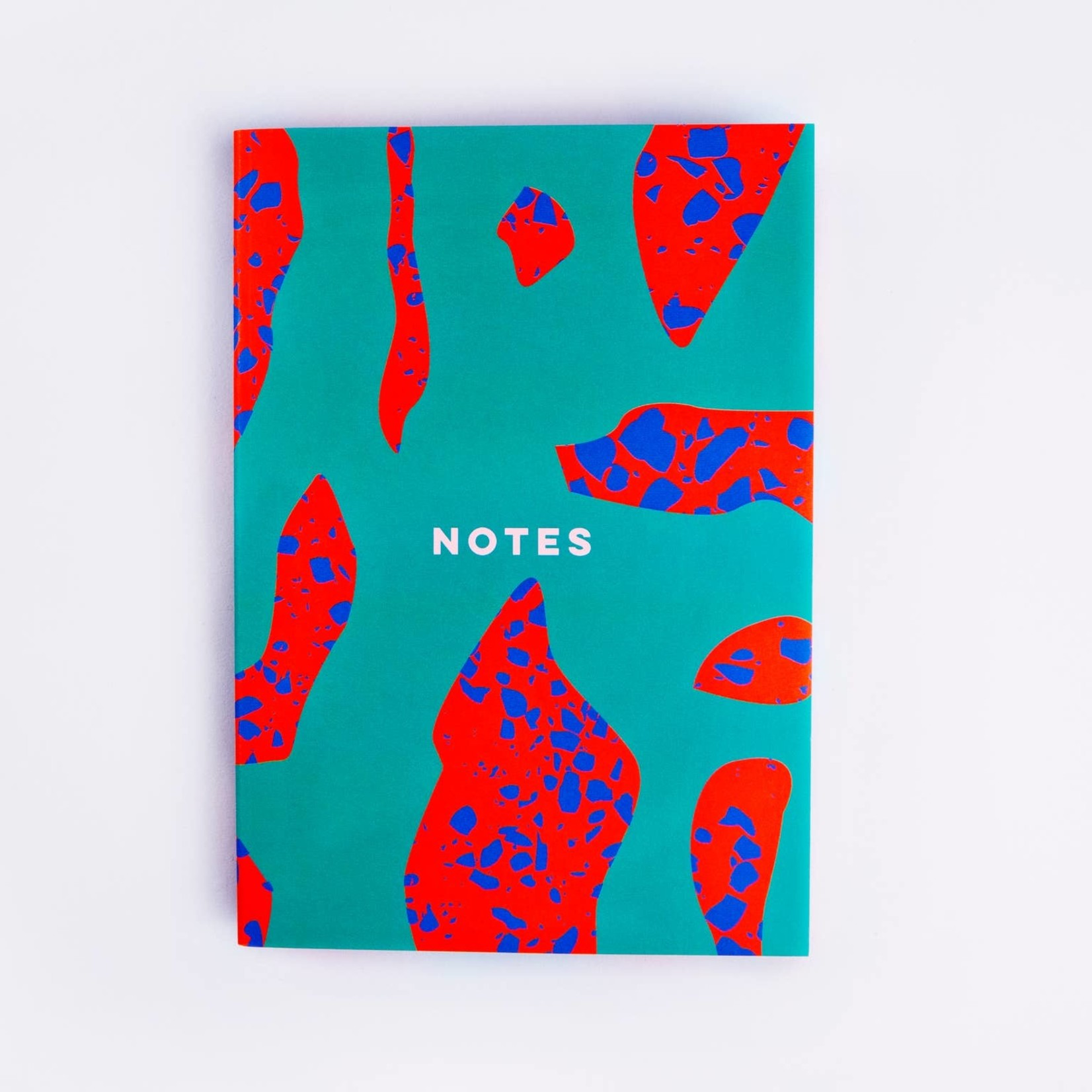 The Completist The Completist Notebook Dot Terrazzo Shapes
