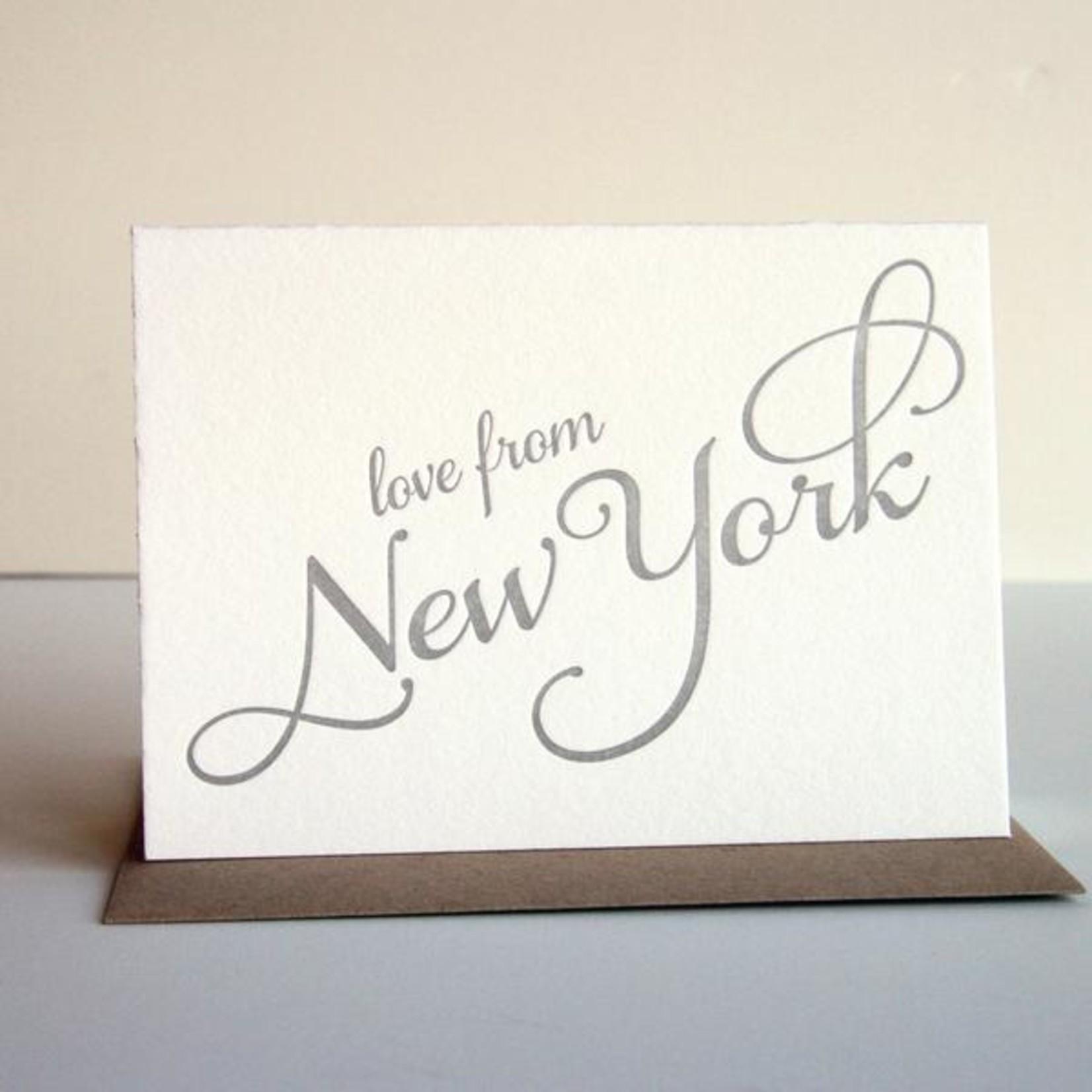 Steel Petal Press Steel Petal Love From New York