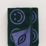 Baggu Baggu Bath Towel Evergreen Happy