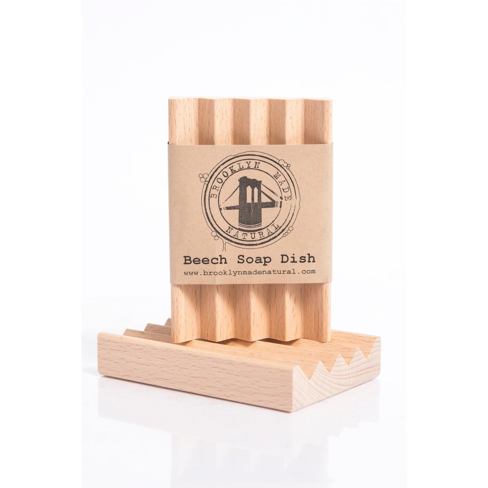 Brooklyn Made Natural Brooklyn Made Natural Beech Wood Soap Dish