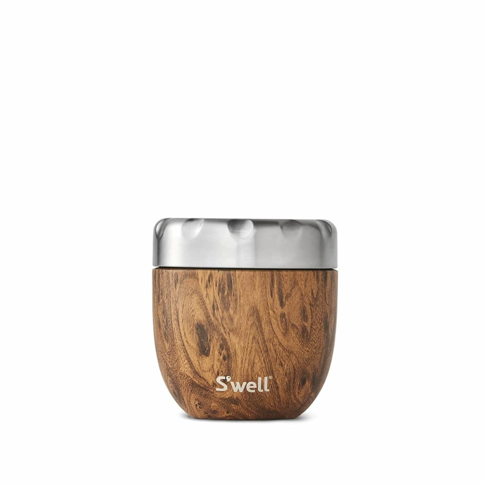 S'well S'well Bottle Eats Food Container-TEAKWOOD-16oz