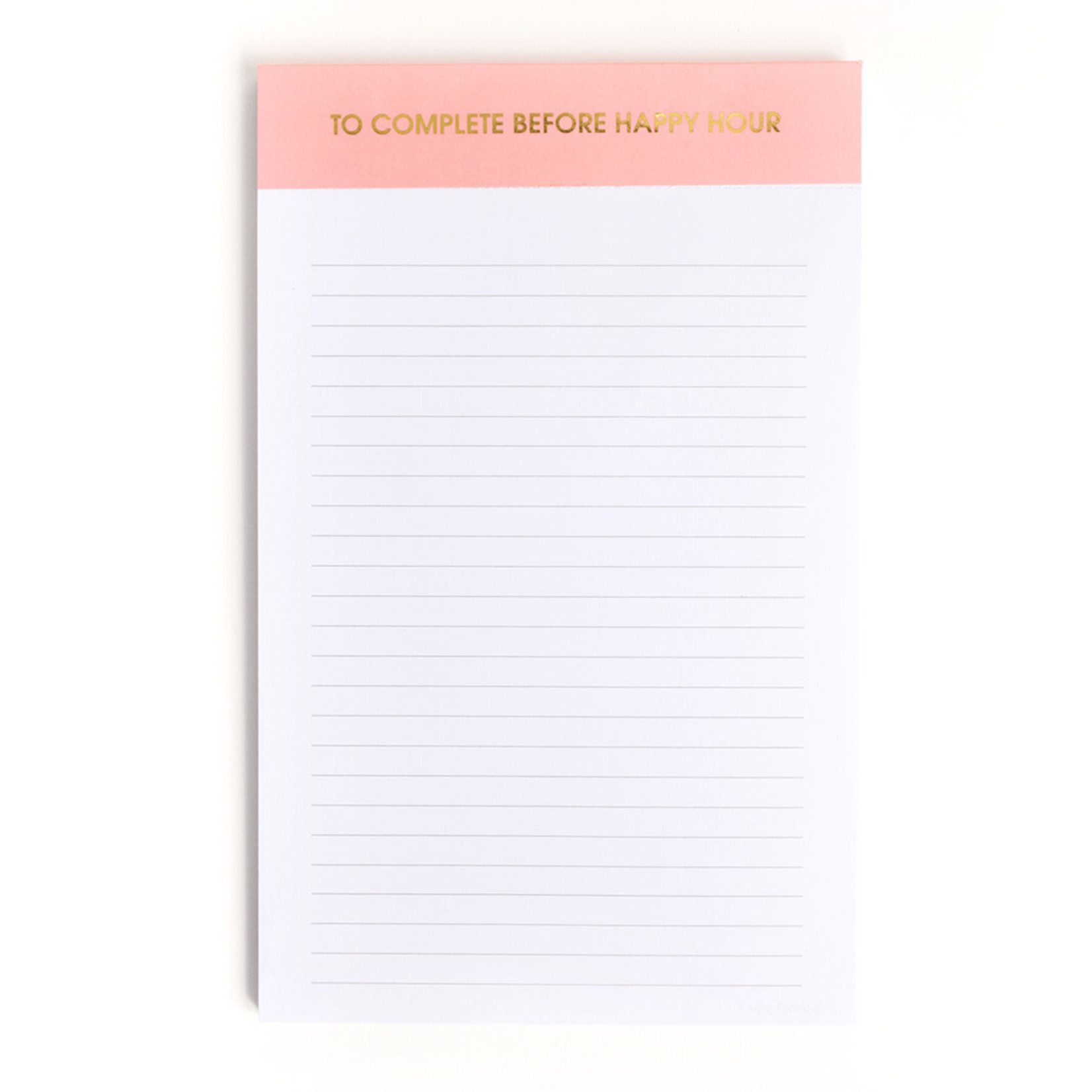 Chez Gagne Chez Gagne Notepad To Complete Before Happy Hour