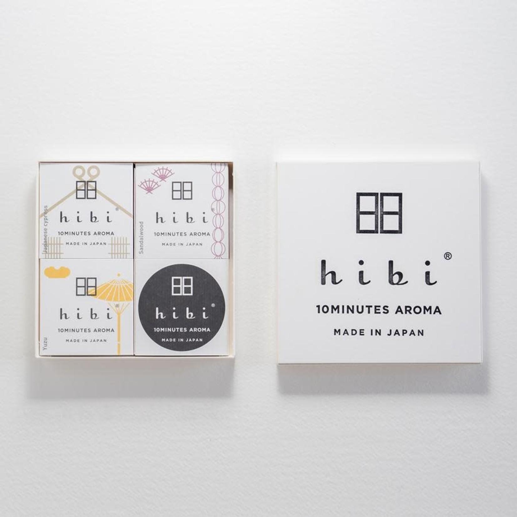 Hibi Hibi Gift Box 3 Assorted Fragrances Yuzu, Japanese Cypress, & Sandalwood