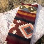 Alpaca Threadz Alpaca Threadz Andean Alpaca Wool Blanket - Western Rust
