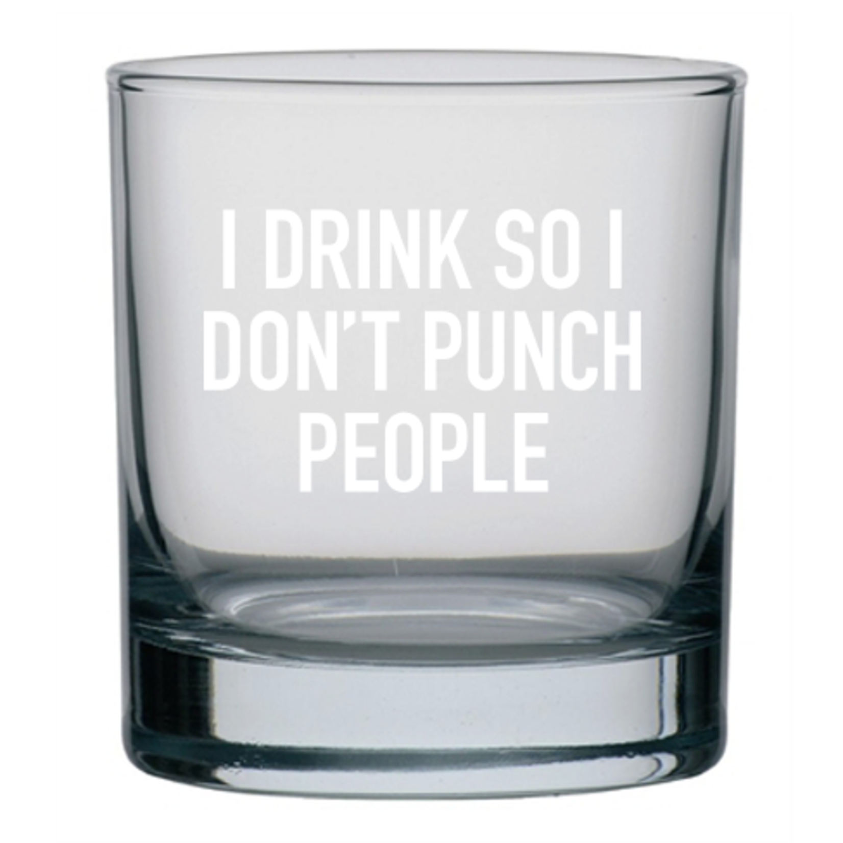 Classy Cards Creative Classy Cards 11oz Rocks Glass Punch People