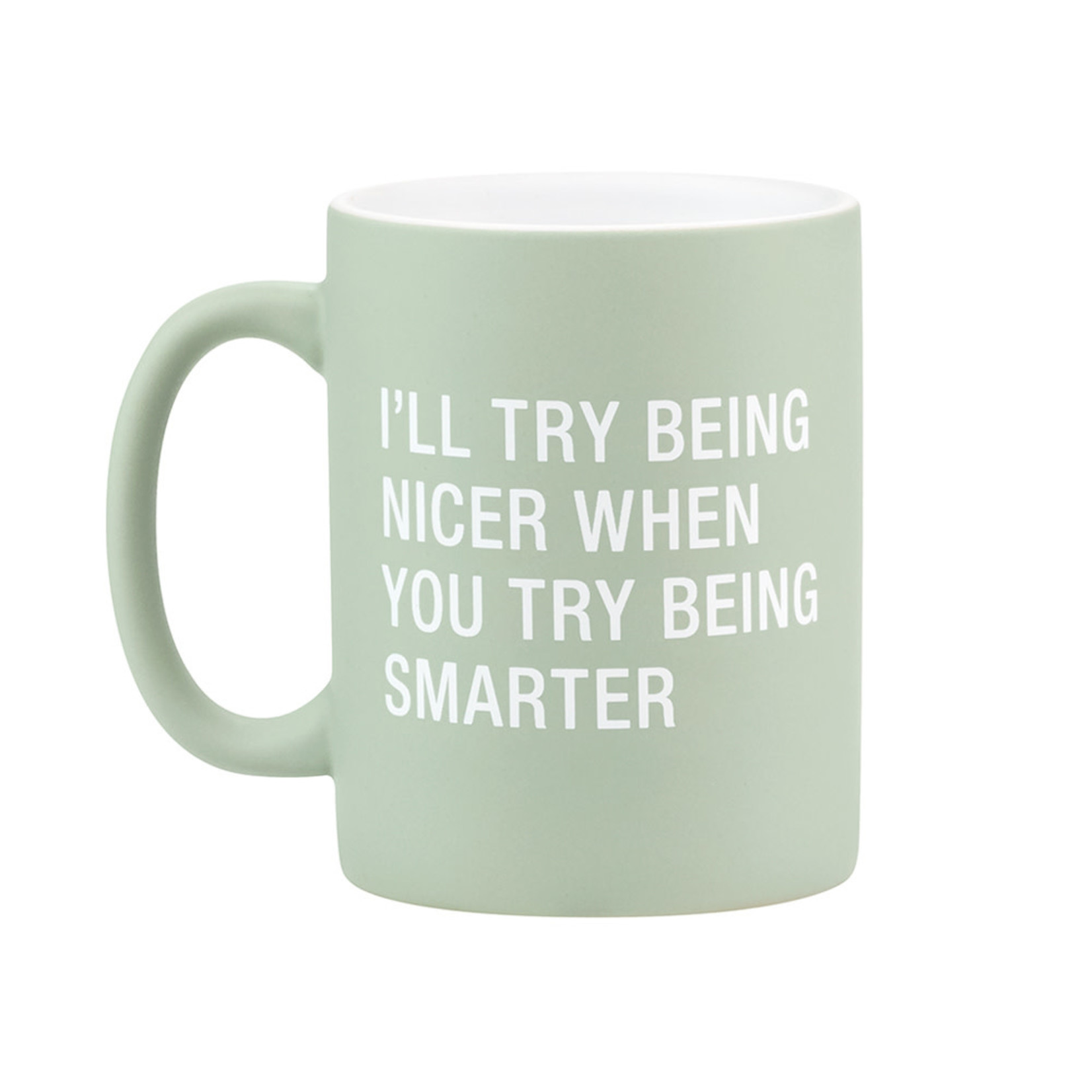 About Face Designs Inc About Face Designs 13.5oz Mug Being Smarter