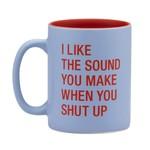 About Face Designs Inc About Face Designs 13.5oz Mug Shut Up