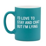 About Face Designs Inc About Face Designs 13.5oz Mug Stay and Chat