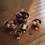 Fog Linen Fog Linen Brass Bowl XSmall