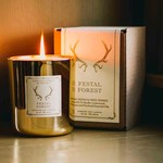 Lodestone Gold Candle Festal Forest