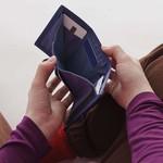 Baggu Baggu Nylon Wallet Lavender Trippy Checker