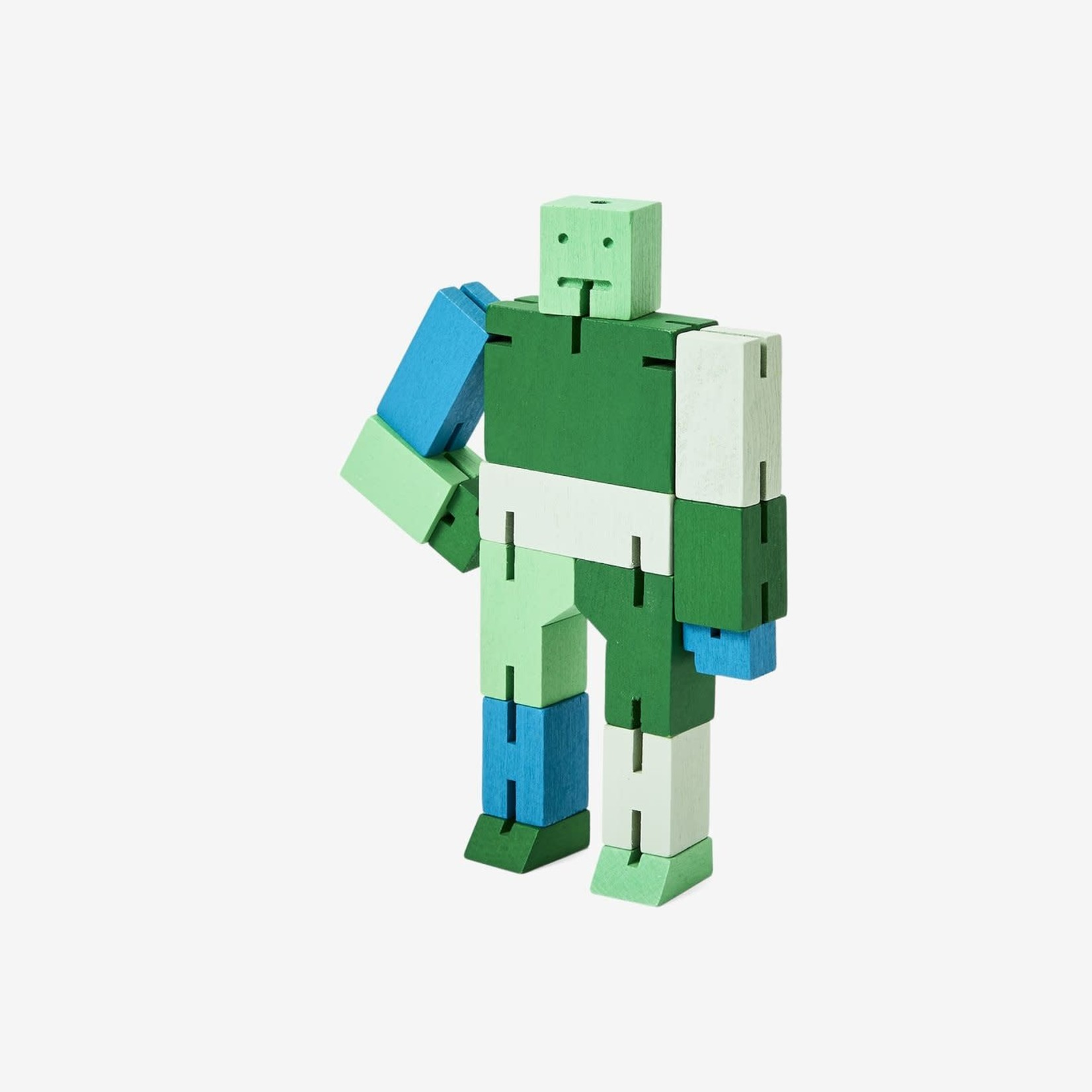 Areaware Areaware Cubebot Capsule Collection Green Multi