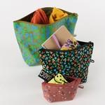 Baggu Baggu Go Pouch Set Calico Florals