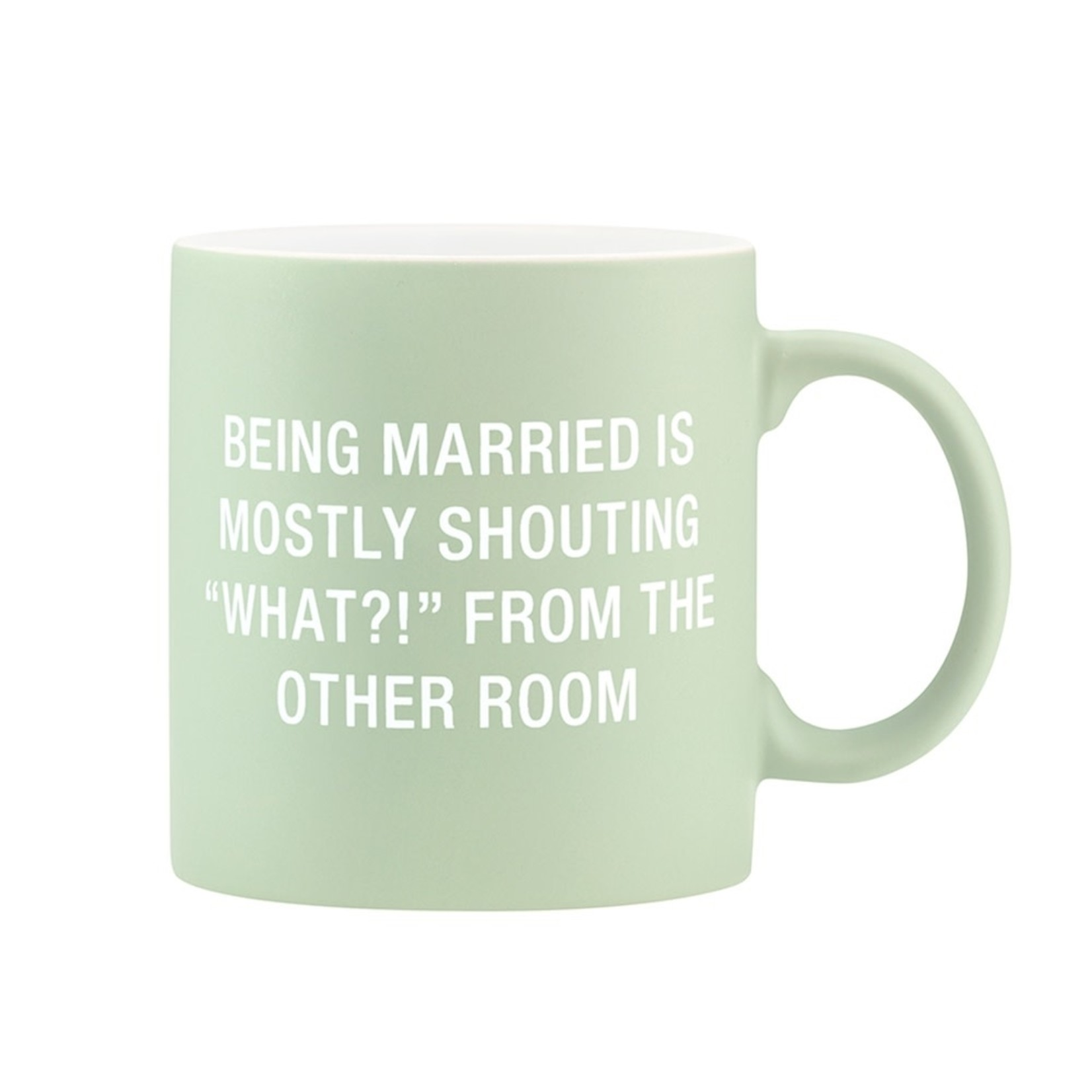 About Face Designs Inc About Face Designs 20oz Mug Being Married
