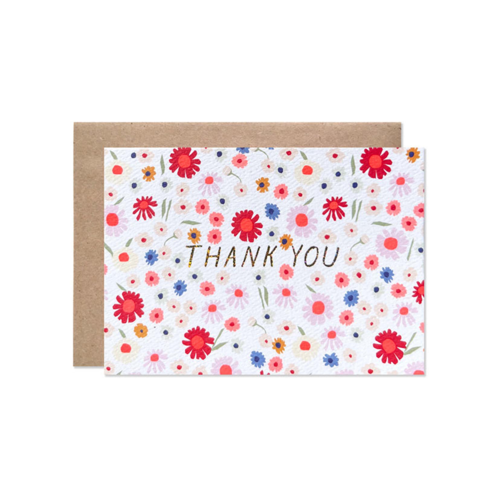 Hartland Brooklyn Hartland Brooklyn Box Set 8 - Thank You Brittani Floral with Gold Glitter Foil