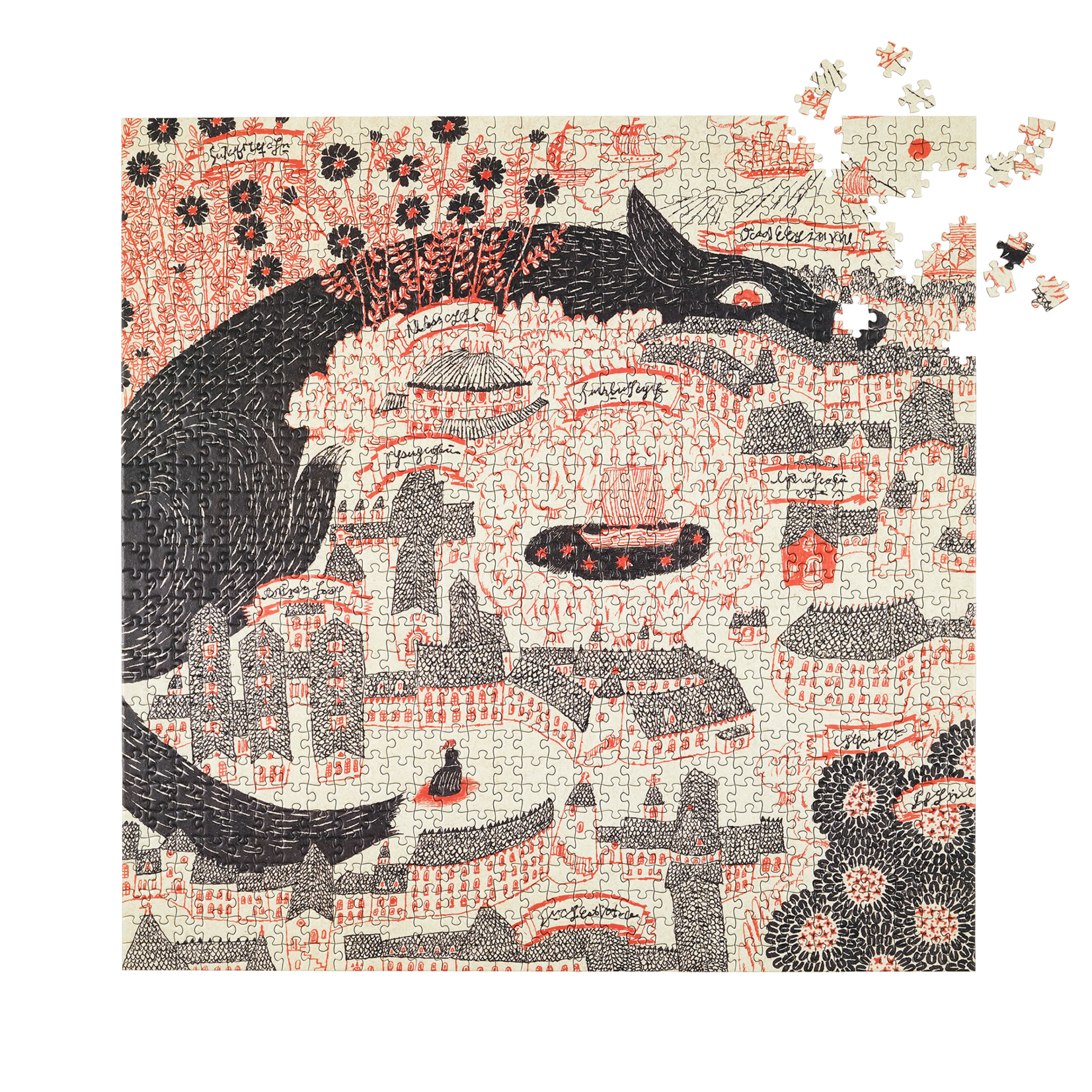 Four Point Puzzles Four Point Puzzles Evening Kingdom 1000 Pieces