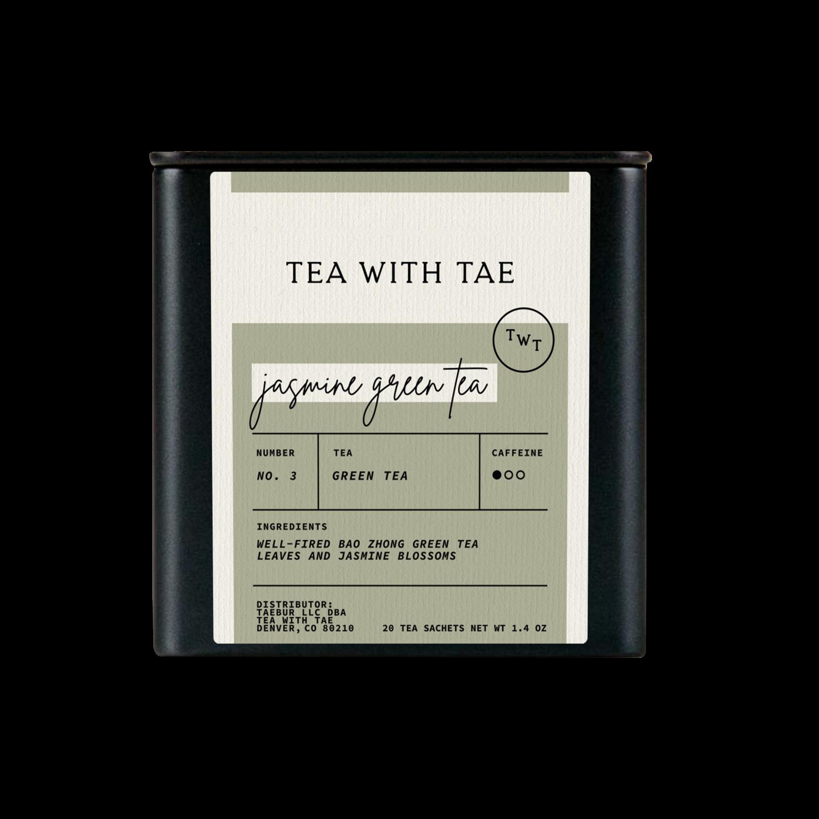 Tea with Tae Tea with Tae Jasmine Green Large Tea Tin