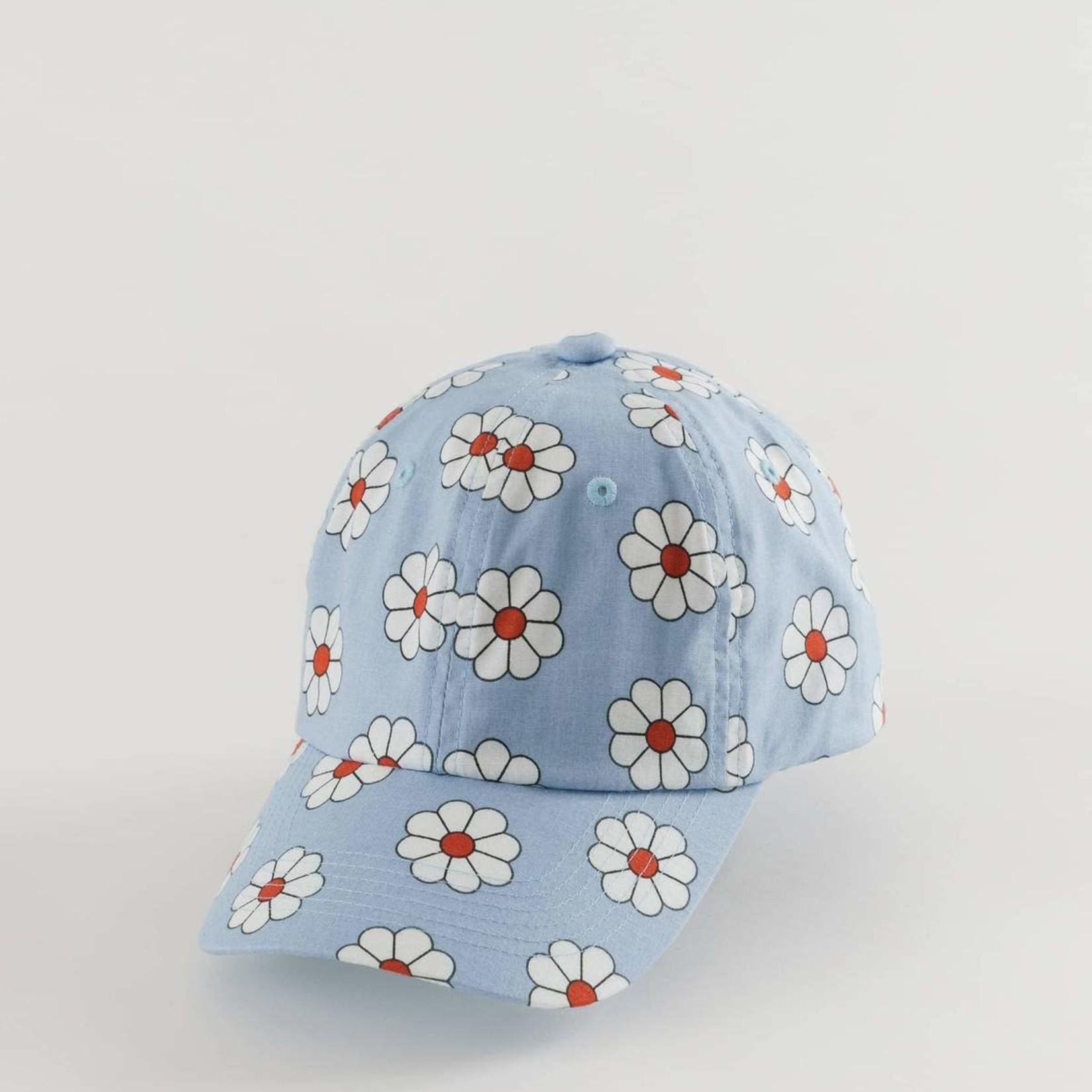 Baggu Baggu Baseball Cap Blue Daisy