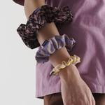 Baggu Baggu Scrunchies Set of 3 Trippy Checkers