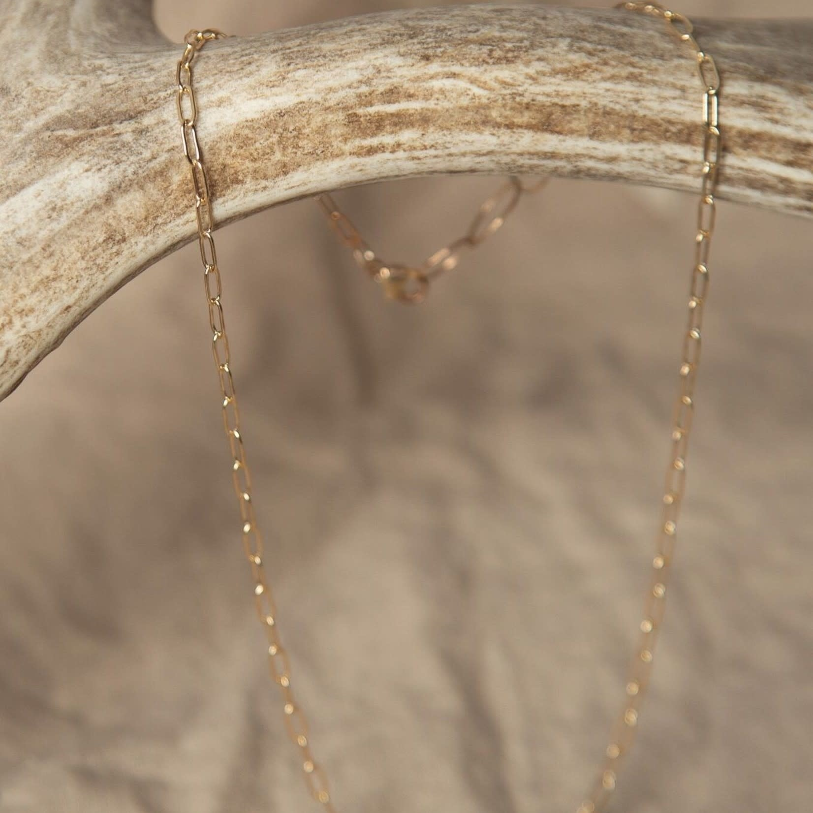 """Lonewolf Collective Lonewolf collective Single Layering Chain 14K Gold Fill (15""""-20"""")"""