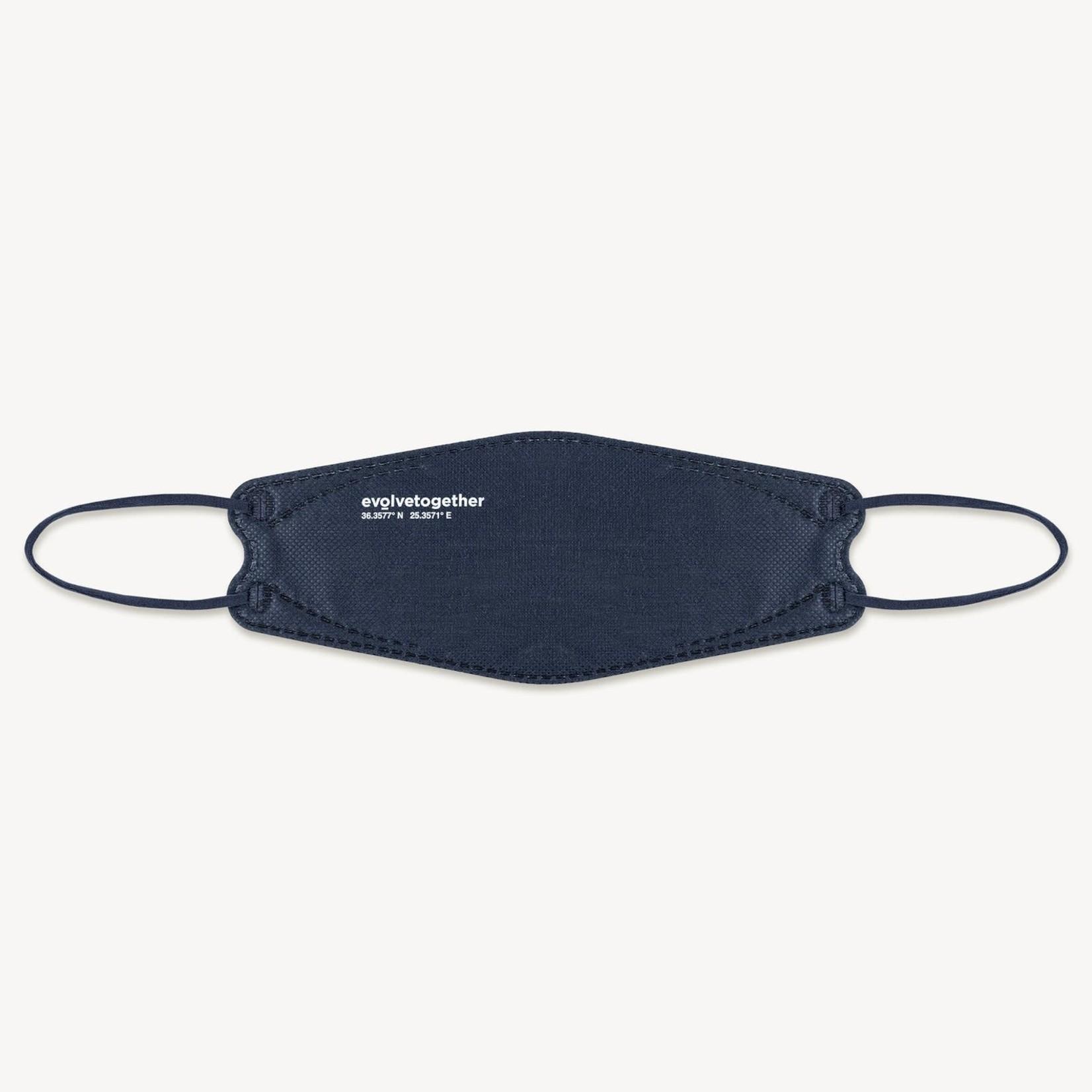 Evolvetogether Evolvetogether santorini - 5 navy KN95 masks