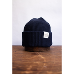 Upstate Stock Upstate Stock Eco-Cotton Knit Watch-cap Knit in U.S.A. Navy