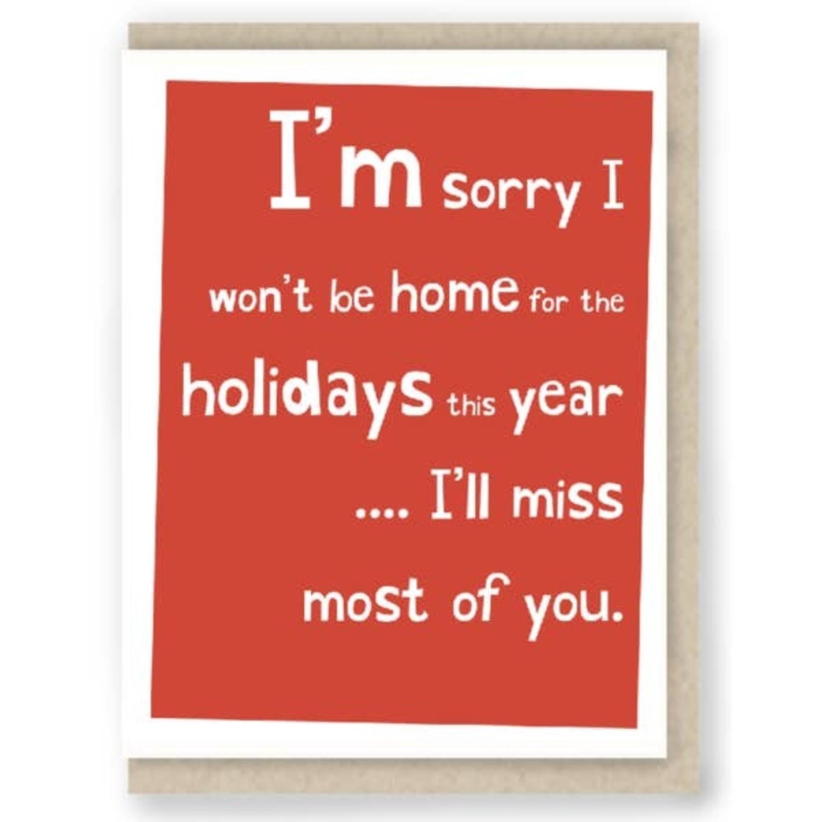 Hit & Run Greetings Hit & Run Holiday