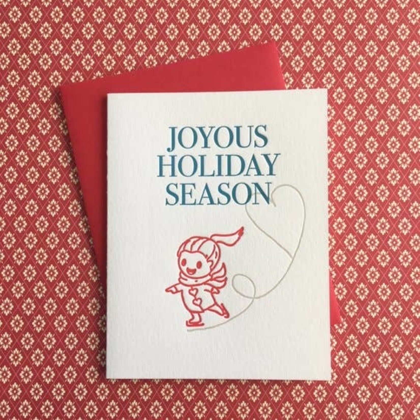Lucky Bee Press Lucky Bee Press Card Holiday