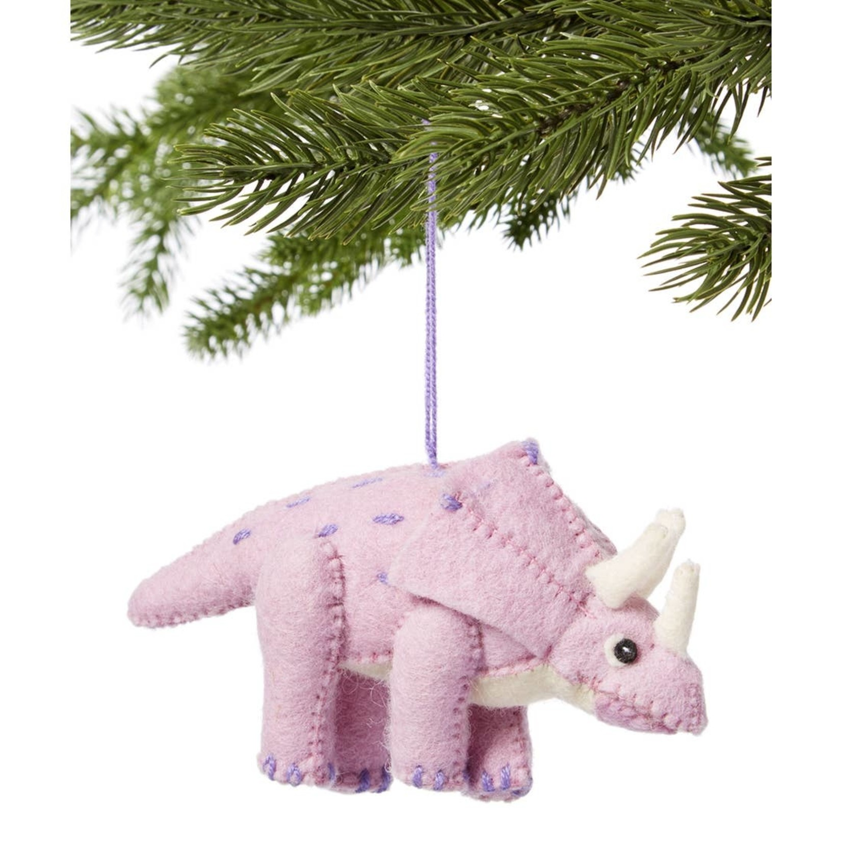 Silk Road Triceratops Purple