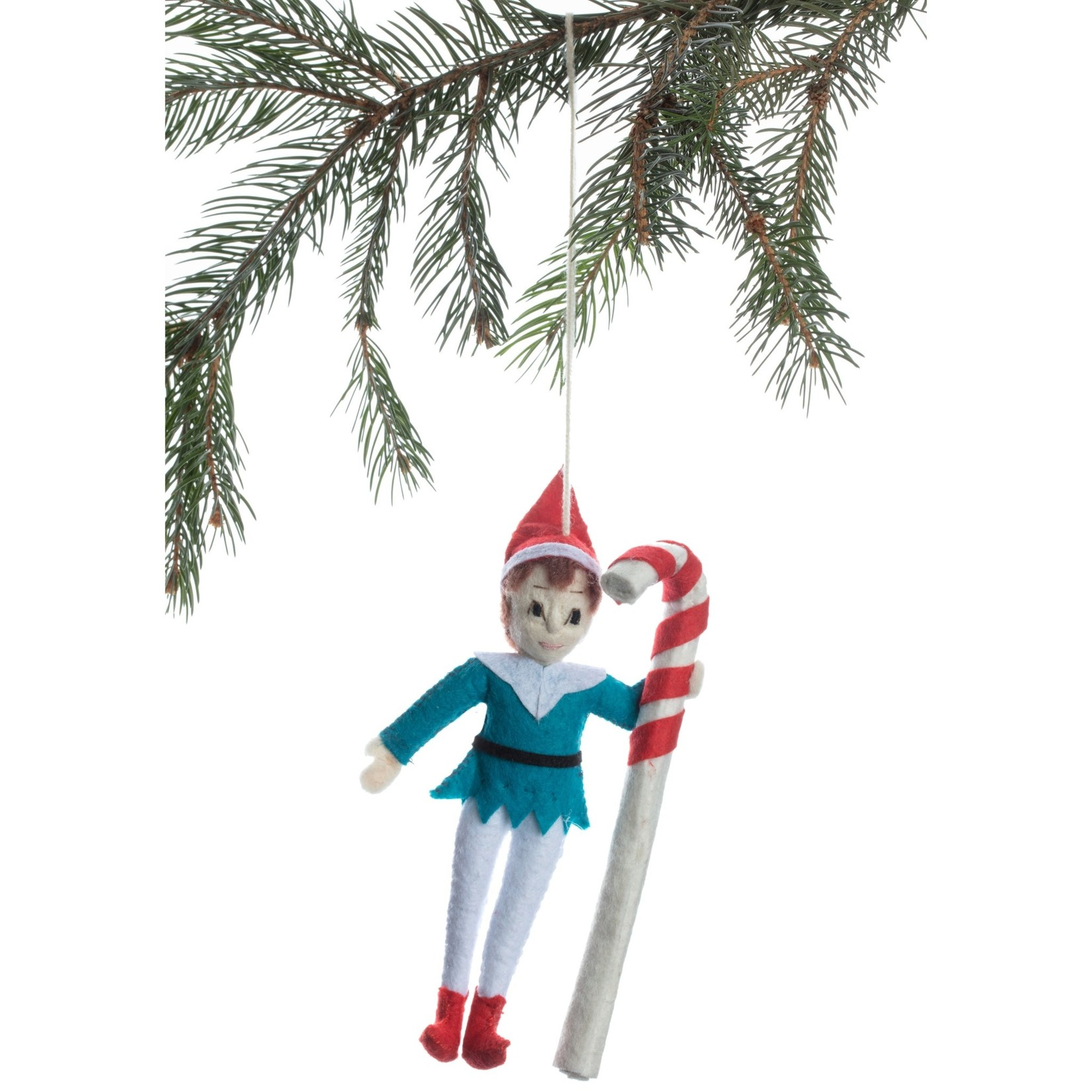 Silk Road Elf Candycane