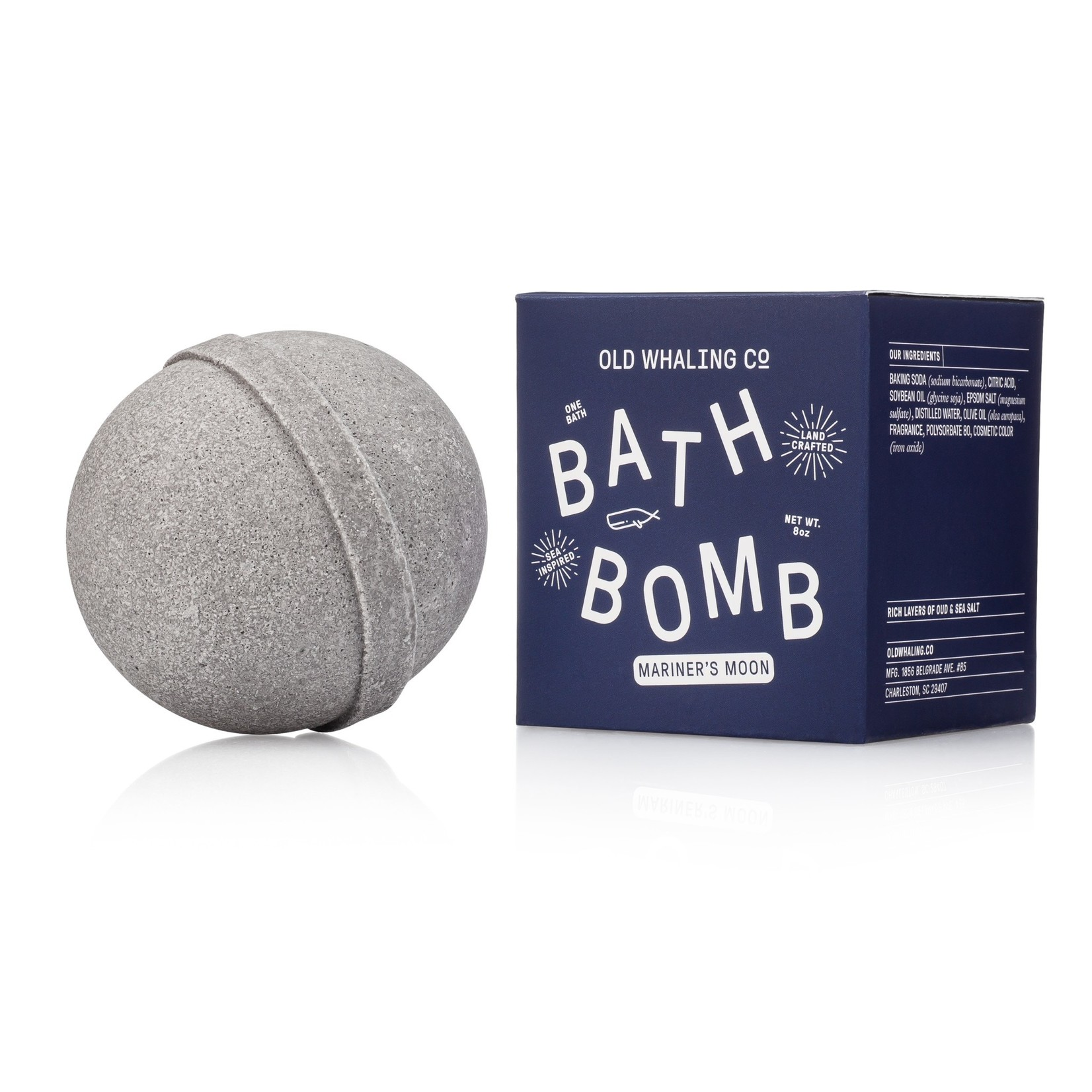 Old Whaling Company Old Whaling Company Bath Bomb Mariner's Moon