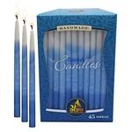 Ner Mitzvah Ner Mitzvah Blue And White Handmade Hanukkah Candles