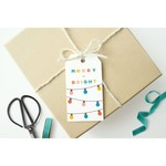 Mellowworks Mellowworks Gift Tags (10) MERRY AND BRIGHT-HOLIDAY STRING LIGHTS