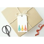 Mellowworks Mellowworks Gift Tags (10) RAINBOW TREES
