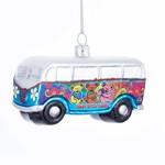 """Kurt s. Adler Kurt Adler 4"""" Glass Grateful Dead Bus"""