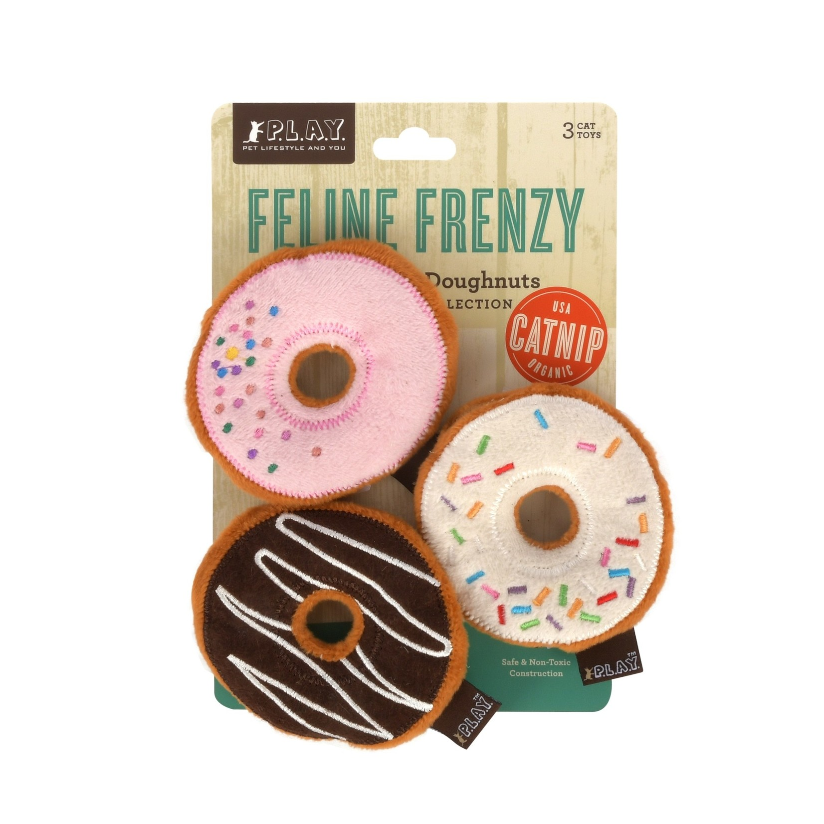 PLAY PLAY Feline Frenzy_Kitty Kreme Doughnuts