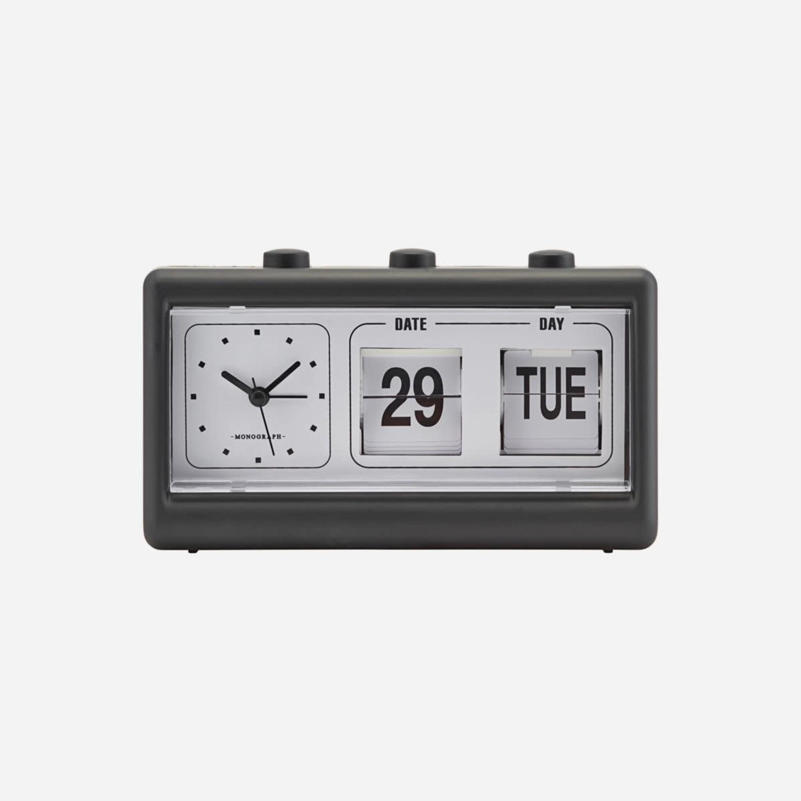 Society of Lifestyle Society of Lifestyle Clock Black w/ alarm & calendar
