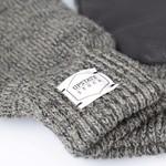 Upstate Stock Upstate Stock Wool Full Finger Gloves Charcoal/Black
