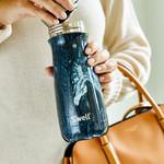 S'well S'well Bottle Traveler 16oz Marble Azurite