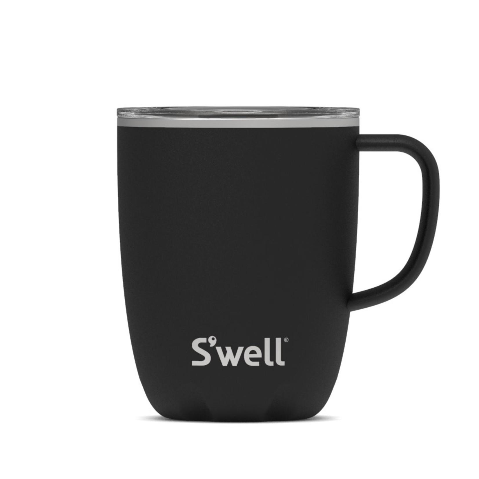 S'well S'well Bottle 12oz Tumbler Mug with Handle/Lid Onyx