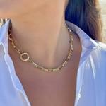 Olivia Le Olivia Le Linked Up Necklace