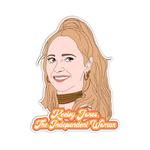 Sammy Gorin Sammy Gorin Sticker Ted Lasso Keeley Jones The Independent Woman
